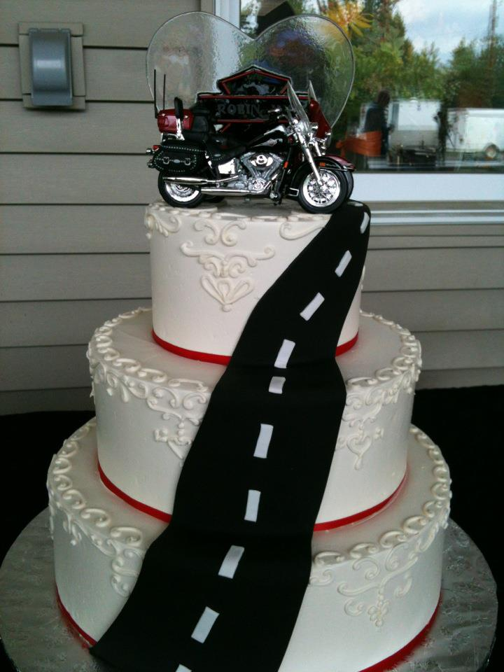 motocross themed wedding cake biker harleyalaskablog 17590