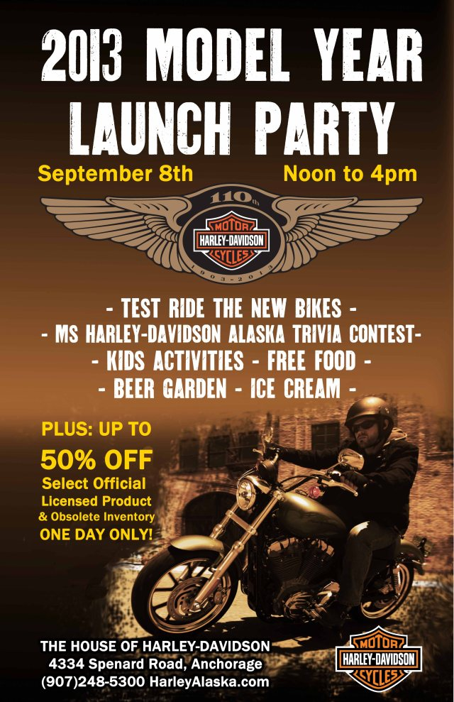 2013 Harley-Davidson Model Year Launch Party