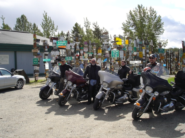 On the road for the 105th anniversary in 2008