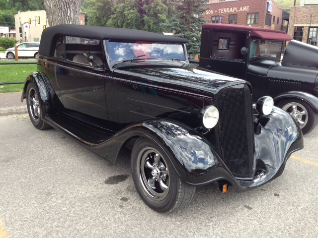 Deadwood hot August nights car show