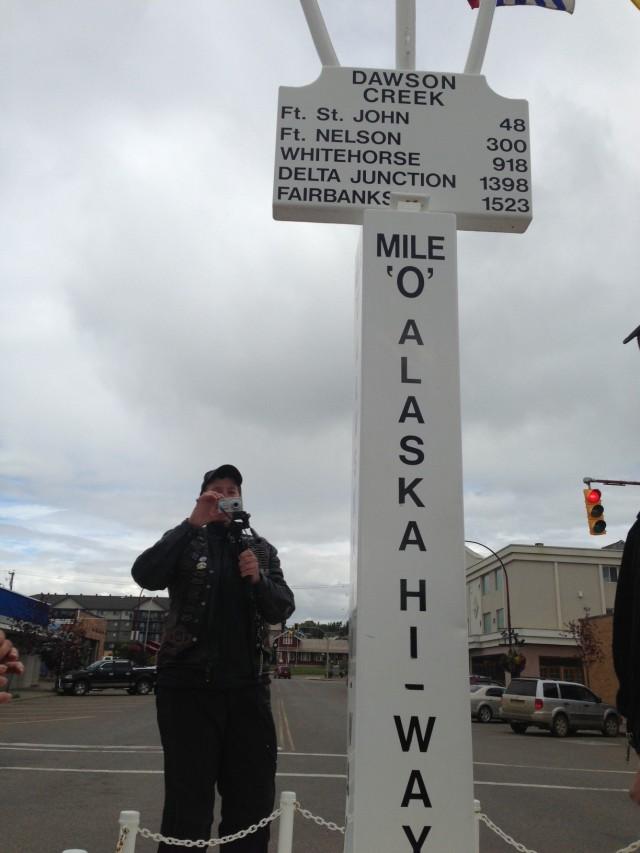 Mile Marker 0 Alaska Highway