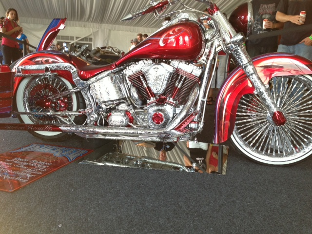 AMD bike show...look closely at all the detail in the chrome!