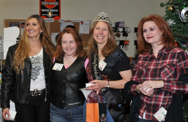 2011 contest, Robin Brandt  was crowned Ms Harley-Davidson Alaska 2013