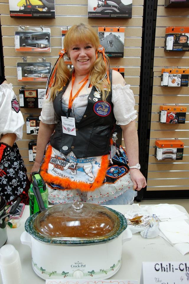 Veronica Pearson's Biketoberfest costume 2012