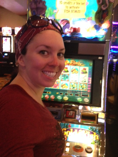I played $1 on a penny slot