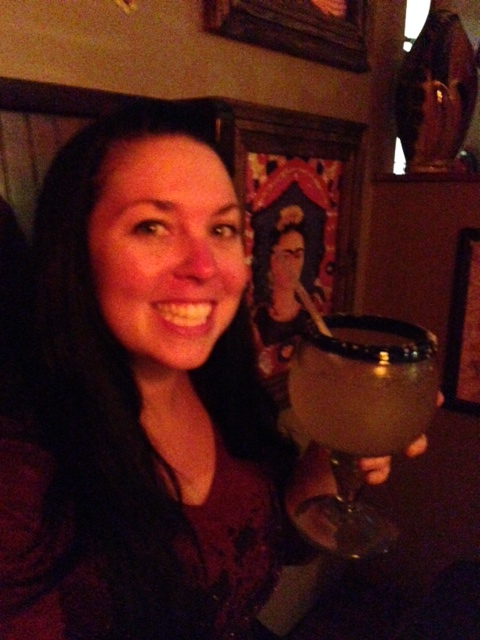Sun burn and giant margarita